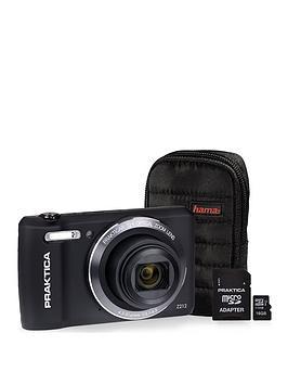 praktica-luxmedia-z212-black-camera-kit-includingnbsp16gbnbspmicrosd-class-6-card-andnbspcase