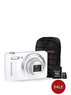 praktica-luxmedia-z212-white-camera-kit-inc-16gb-microsd-class-6-card-amp-case