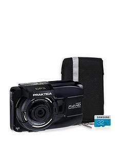 praktica-praktica-10gw-wireless-gps-car-dash-cam-kit-inc-32gb-microsd-sd-adapter-amp-case