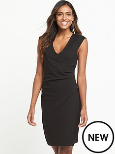 french-connection-french-connection-lula-jersey-capped-sleeve-dress
