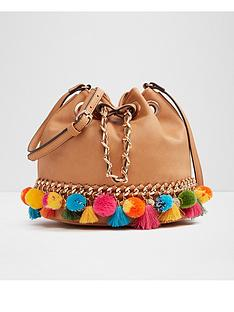 aldo-mini-pom-pom-detail-duffle-bag