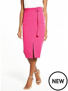 v-by-very-paperbag-buckle-pencil-skirt