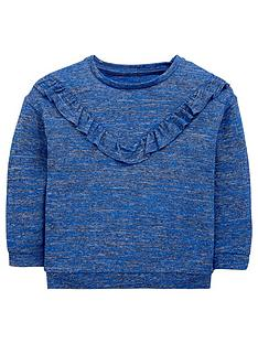 mini-v-by-very-girls-longnbspsleeve-frill-v-sweat-top
