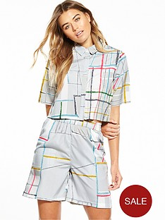 native-youth-spectrum-print-boxy-shirt