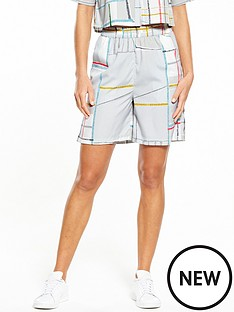 native-youth-native-youth-spectrum-print-bermuda-short