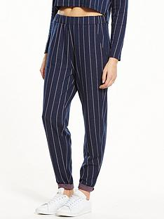 native-youth-pinstripe-joggers-navy