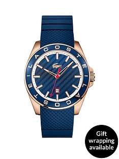 lacoste-lacoste-blue-dial-rose-tone-case-blue-silicone-strap-mens-watch