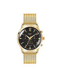henry-london-henry-london-westminster-black-chronograph-dial-gold-tone-stainless-steel-mesh-bracelet-mens-watch
