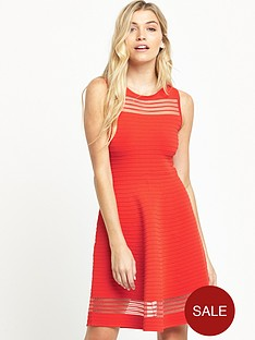 french-connection-tobey-dress-coral
