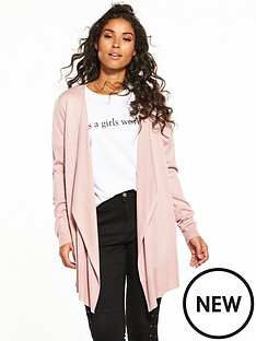 v-by-very-drape-front-waterfall-cardigan-dusky-pink
