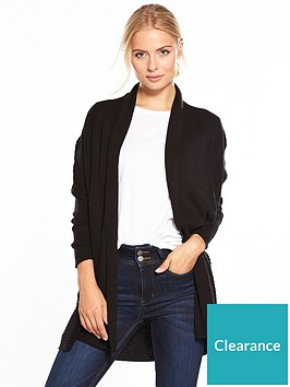 v-by-very-shawl-collar-rib-cardigan