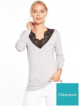 v-by-very-lace-v-neck-jumper