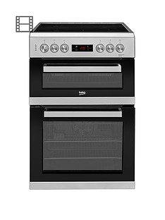 beko-kdc653s-60cm-electric-cooker-with-ceramic-hob-silver