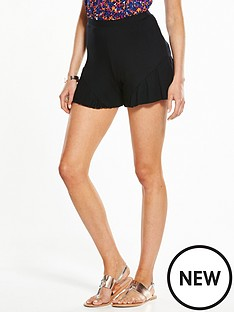 v-by-very-frill-hem-holiday-short
