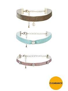 v-by-very-pastel-velvet-3-pk-choker-set