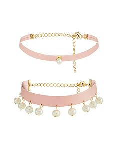 v-by-very-2-pknbsppearl-detail-choker-set