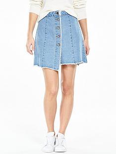 noisy-may-ava-denim-skirt