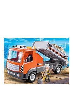 playmobil-flatbed-workman039s-truck