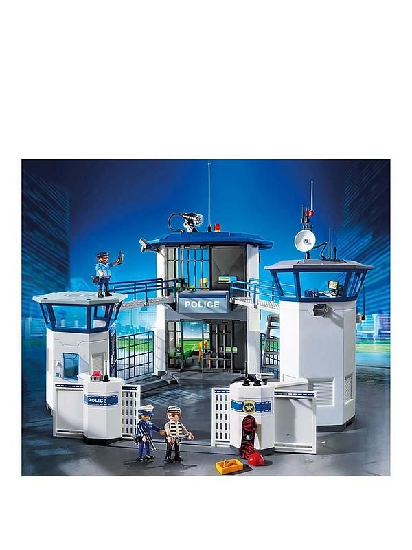Kids Toy 6919 City Action Police Headquarters With Prison Playmobil Child