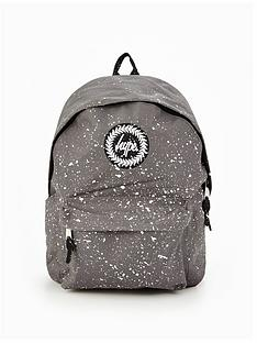 hype-hype-grey-amp-white-speckle-classic-backpack