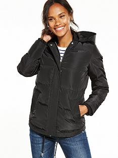 v-by-very-hooded-short-padded-coat-black