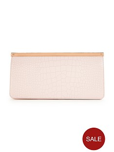 ted-baker-textured-metal-bar-clutch-bag
