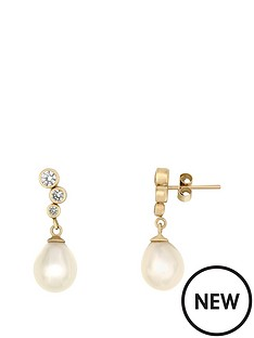 love-pearl-9ct-yellow-gold-75-8mm-freshwater-pearl-amp-cubic-zirconia-stud-earrings
