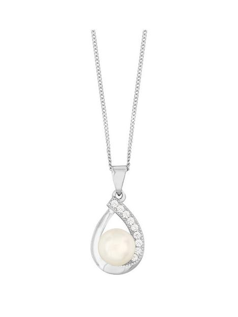 love-pearl-sterling-silver-rhodium-plated-freshwater-pearl-amp-cubic-zirconianbsppendant