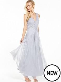 little-mistress-vintage-look-v-neck-maxi-with-lace-inserts-grey