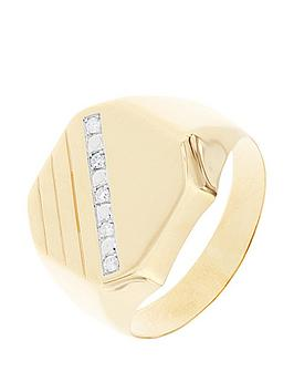 love-diamond-9ct-yellow-gold-diamond-set-mens-signet-ring