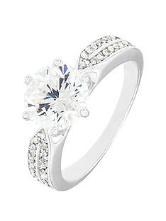 the-love-silver-collection-sterling-silver-cubic-zirconia-solitaire-ring