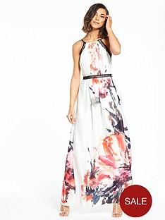 little-mistress-floral-ink-print-maxi-dress