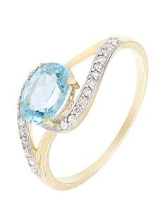 love-gem-9ct-yellow-gold-blue-topaz-and-10-point-diamond-ring