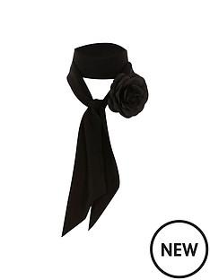 river-island-corsage-skinny-scarf