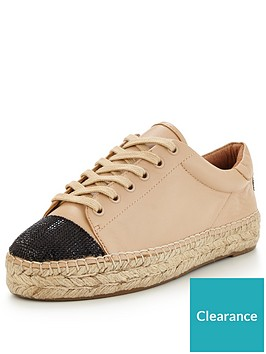kendall-kylie-kendall-kylie-joslyn-lace-up-plimsoll