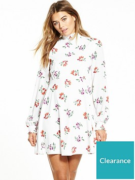 fashion-union-floral-long-sleeve-high-neck-dress-white