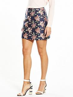 fashion-union-floral-jacquard-skirt