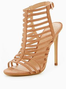 office-harlem-caged-heeled-sandal-nude