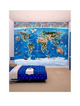 walltastic-map-of-the-world-wallpaper-mural