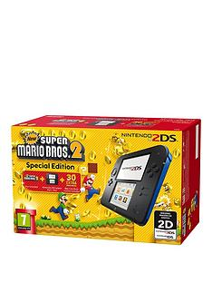 nintendo-2ds-console-with-super-mario-bros-2--nbspblack-and-bluenbsp