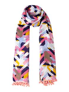 v-by-very-geometric-bright-pom-pom-scarf