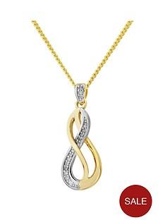 love-diamond-sterling-silver-yellow-rhodium-plated-diamond-infinity-pendant