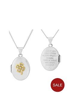 keepsafe-keepsafe-sterling-silver-and-yellow-rhodium-4-leaf-clover-cz-locket