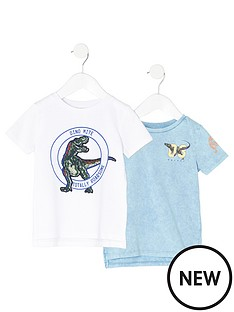 river-island-mini-boys-blue-dinosaur-t-shirt-multipack