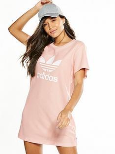 adidas-originals-trefoil-tee-dress-pinknbsp