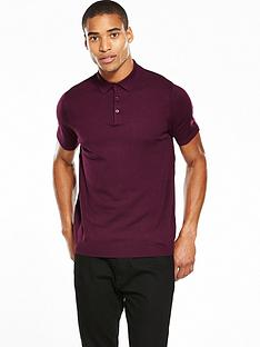 river-island-short-sleeve-knitted-slim-fi