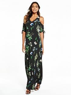 v-by-very-drawcord-sleeve-maxi-dress