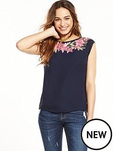 oasis-evagrace-lace-trim-t-shirt