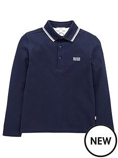 boss-print-logo-short-sleeve-polo