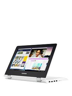 lenovo-lenovo-yoga-300-11ibr-intel-celeron-4gb-ram-500gb-hard-drive-116in-touchscreen-2-in1-laptop-white